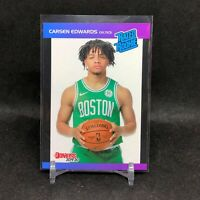 2019-20 Carsen Edwards Panini Retro Rated Rookie Card RC 1989 Donruss Celtics SP