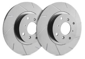 SP Performance Rear Rotors for 2008 G37 Sport | Slotted w/ ZRC T32-986