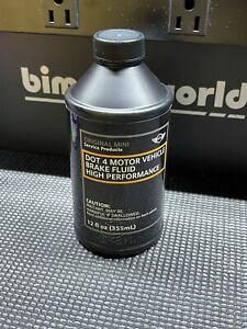 Genuine MINI Brake Fluid Dot 4- 12 Fl Oz 81 22 0 146 735