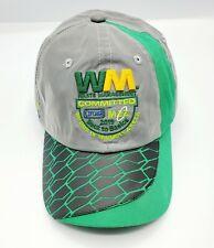Waste Management Hat Reflective Embroidered Graphics Open Back Adjustable Close