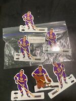 Vintage Coleco Hockey Players 1960 Metal California Golden Seals 6 Players  SH5
