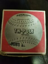 Vintage Wilson Official Tn-Poly Softball. Ball marked A9161, box stamped A9061.