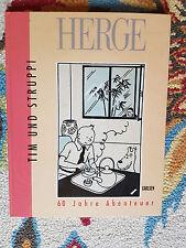 Herge,Tim und Struppi, 60 Jahre Abenteuer, Carlsen,1990