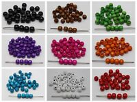"200 Round Wood Beads 10mm(3/8"") Wooden Beads Color for Choice Jewelry Craft DIY"