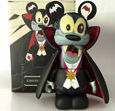 "DISNEY VINYLMATION 3"" HOLIDAY HALLOWEEN SPOOKY 2 GOOFY VAMPIRE 2012 TOY FIGURE"