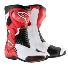 Alpinestars SMX 6 Boots SMX-6 SM-X 6 Motorcycle Motorbike Red Ladies 37