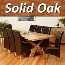 Oak Rectangle Modern Kitchen & Dining Tables