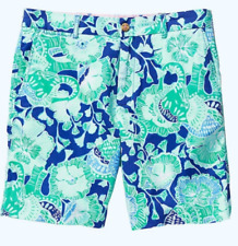 NWT Lilly Pulitzer 4 Boys Beaumont Short Bright Agate Green Mint to Be