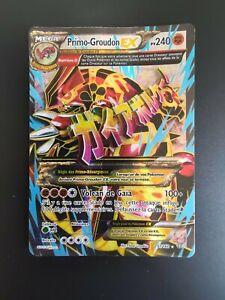 Carte Pokémon Primo Groudon EX 151/160 Full Art XY Primo choc