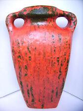 "Keramik Vase Ruscha ""Vulcano"" Fat Lava K.Tschörner West-Germany pottery WGP 31cm"