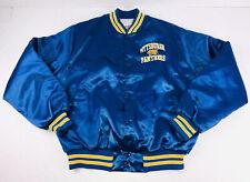 Vintage Locker Line Pittsburgh Panthers Satin Snap Button Jacket Size Large