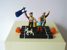 TINTIN RED SEA SHARKS CHILDRENS BOOK COMIC METAL FIGURE SET  54MM MIB (BS1213)