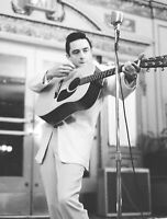 Johnny Cash In Concert Guitar 8x10 Picture Celebrity Print