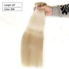 50S 16 18 20 22Inch Micro loop Nano Ring beads Remy Human Hair Extensions Thick