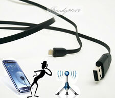 New USB cable design GSM SIM spy hidden wireless audio sound voice listening bug