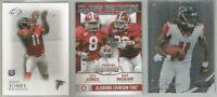 Julio Jones Atlanta Falcons Alabama 84 card 2011-2017 lot-all different