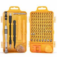 110 in 1 Precision Screwdriver Set Hardware Repair Open Tools Demolition Kit
