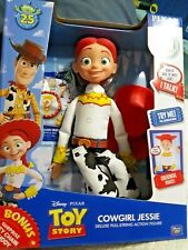 Disney Pixar Toy Story COWGIRL JESSIE Deluxe Pull-String Talking Action Figure