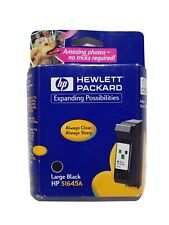HP 51645A Large Black Ink Cartridge Genuine New In Box