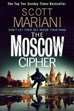 Scott Mariani The Moscow Cipher Crime Thiller Novel Book 17 Ben Hope  PREORDER