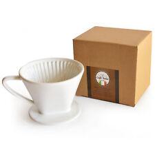 Caffé Italia Permanent-Kaffee-Filter Aufsatz Keramik - Größe 2 für 2-3 Tassen