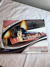 Dave Grubnic Signed StrVectin - SD Racing Dragster NHRA Photo Card N 187