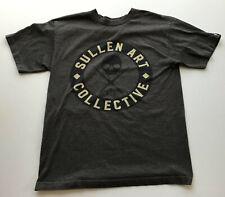 Sullen Art Collective T-Shirt, Gray, Size Medium