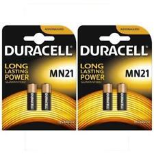 Authentique 4 X Duracell MN21 A23 12 V Pile Alcaline 23 A K23A E23A V23GA 12 V