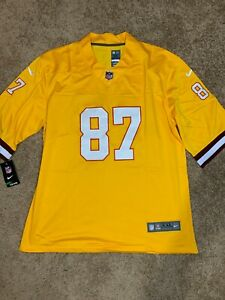 Rob Gronksowsk #87 Rare Throwback Tampa Bay Buccaneers Jersey Size XXL Bucs