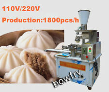 Automatic electric steamed stuffed bun machine,Production 1800PCS/H