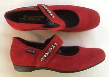 Chaussures ballerines MEPHISTO neuves rouge 36