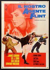 MANIFESTO, IL NOSTRO AGENTE FLINT Our Man Flint COBURN, J.COBB JAMES BOND PARODY