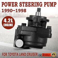 Power Steering Pump Fits Toyota Land Cruiser HDJ80 HZJ80 HZJ105 1HZ 1HD Diesel