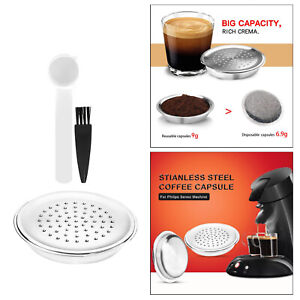 Refillable Reusable Capsule for Senseo Coffee Filter Espresso Coffee Capsule