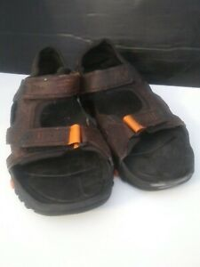 Men Size 11(US) - Timberland sandals - brown with straps / fastenings