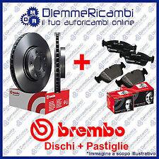 KIT DISCHI + PASTIGLIE FRENO ANTERIORI BREMBO TOYOTA RAV 4 II 2.0 VVTI  00-> 06