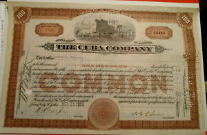 COLLECTION OF 7 DIFFERENT US STOCK CERTIFICATES