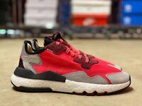 Adidas Originals Nite Jogger Boost Mens Reflective Shoes Shock Red EE5883 Multi