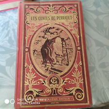 Les contes de Perrault, Théodore Lefèvre, Emile Guérin, reliure Engel sd 1894