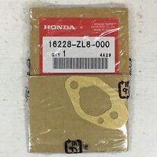 HONDA MOTOR CARBURETOR GASKET PART NUMBER 16228-ZL8-000 NEW