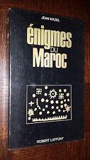 ENIGMES DU MAROC - Jean Mazel 1971