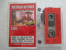 Dietrich Kittner: l'uovo del kohlumbus-Live-CASSETTA 1-MC CASSETTA RARE