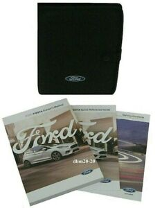 FORD FIESTA MK8 OWNERS HANDBOOK MANUALS WITH BLANK SERVICE BOOK AND FOLDER NEW