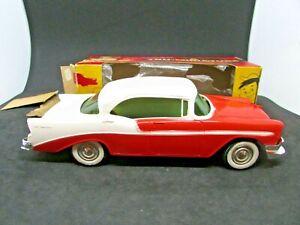1956 Chevy Bel Air 4-door hardtop - friction promo - original box      #118