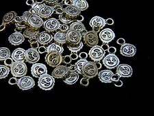 40 Pcs - 12mm Tibetan Silver Mini Sun Charms Sunshine Holidays Jewellery V13