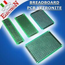 BASETTA PCB VETRONITE PREFORATA MILLEFORI 1000 circuito stampato BREADBOARD