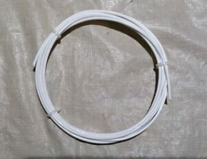 12 AWG  Mil-Spec Wire Type E, Wht (PTFE) Stranded Silver Plated Copper, 10 ft