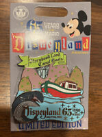 Disneyland 65th Anniversary 65 Years of Magic Storybook Land Canal Boats LE Pin