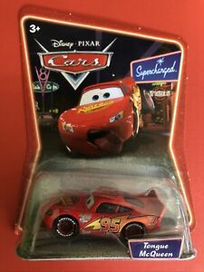 Tongue Lightning McQueen - Disney Pixar Cars 1 (2007) - Supercharged Series