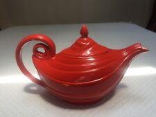 Vintage Hall Red Aladdin Teapot Flawless